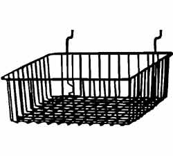 12x12x4 wire basket large image